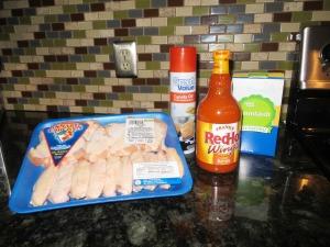 Wing Ingredients